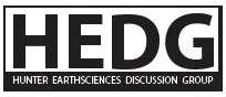 Hunter Earthsciences Discussion Group (HEDG)