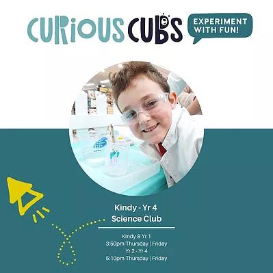 Kindy - Yr 4 Science Club